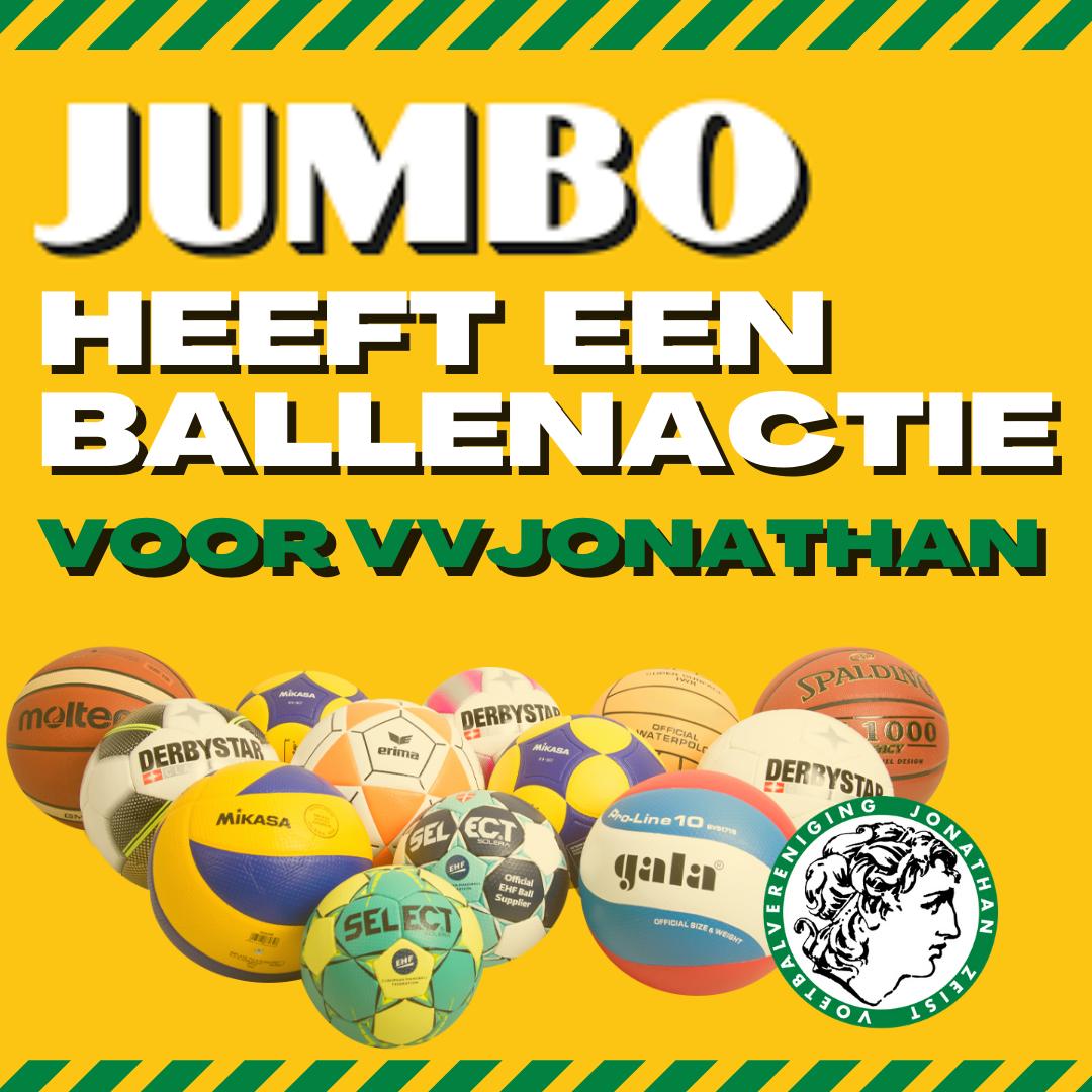 Start Jumbo Ballenactie