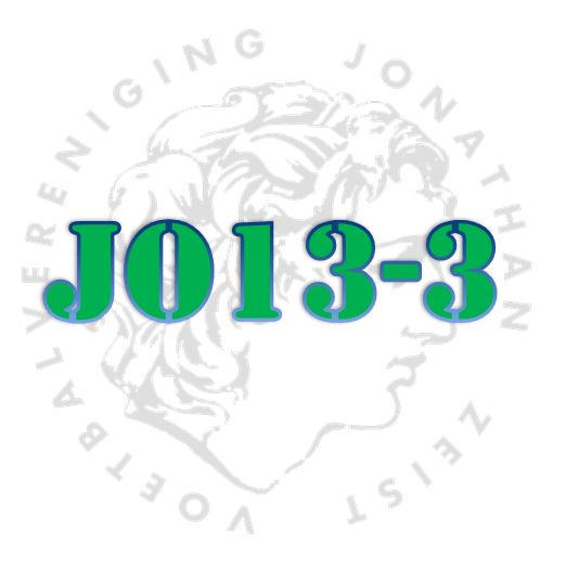 Ouderwets genieten bij de start van de 2e seizoenshelft met Jonathan JO13-3