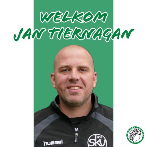Jan Tiernagan nieuwe hoofdtrainer Jonathan vrouwen.