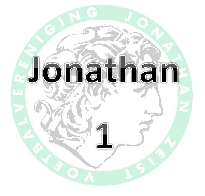 Jonathan 1 door naar volgende bekerronde